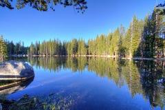 Lago Tenaya Fotografia Stock Libera da Diritti