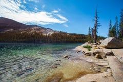 Lago Tenaya del parque nacional de Yosemite Imágenes de archivo libres de regalías