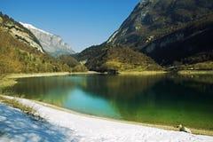 Lago Tenno Fotos de archivo