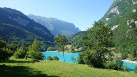 Lago Tenno Immagine Stock