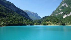 Lago Tenno Fotografia Stock