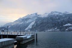Lago Thun Fotografia Stock