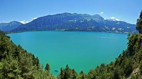 Lago Thun Imagen de archivo libre de regalías