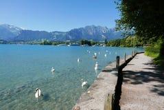 Lago Thun Fotos de archivo