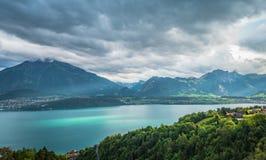 Lago Thun 3 Immagine Stock Libera da Diritti