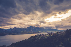 Lago Thun 1 Fotografia Stock