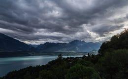 Lago Thun 5 Immagini Stock