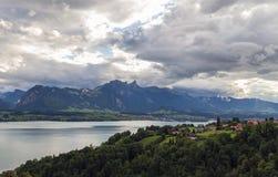 Lago Thun 7 Immagini Stock