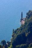 Lago Thun seaside foto de stock royalty free