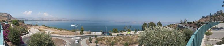 Lago Tiberias, Israel, Médio Oriente Imagem de Stock Royalty Free