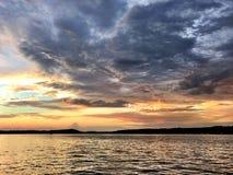 Lago Tillery N C Immagine Stock Libera da Diritti