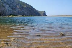 Lago Tindari fotografía de archivo