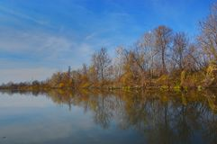 Lago Tisza Imagem de Stock Royalty Free