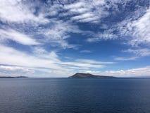Lago Titicaca fotografie stock libere da diritti