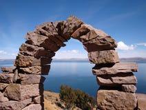 Lago Titicaca imagens de stock