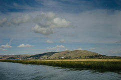 Lago Titicaca immagini stock