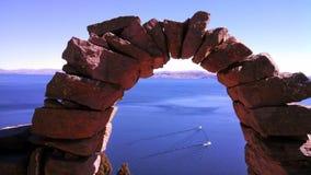 Lago Titicaca Fotografia Stock