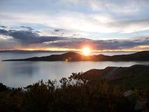 Lago Titicaca Fotografia Stock Libera da Diritti