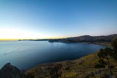Lago Titicaca Immagine Stock