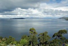 Lago Titicaca, Bolivia Fotografie Stock