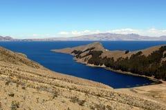 Lago Titicaca en Perú Fotos de archivo