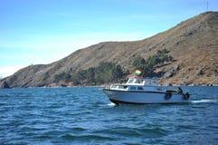 Lago Titicaca mountain Imagens de Stock Royalty Free