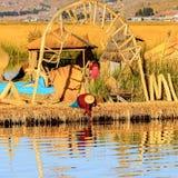Lago Titicaca, Peru imagens de stock royalty free