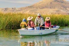Lago Titicaca, Peru foto de stock