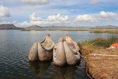 Lago Titicaca peru Immagini Stock Libere da Diritti