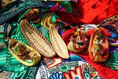Lago Titicaca Tipical艺术 库存照片