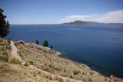 Lago Titikaka Imagem de Stock Royalty Free