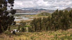 Lago-titikaka - Puno stockbilder