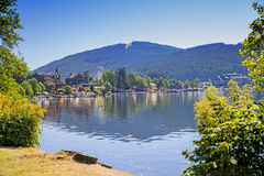 Lago Titisee fotografia stock