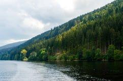 Lago Titisee Fotografia Stock Libera da Diritti