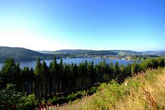 Lago Titisee Fotos de Stock Royalty Free