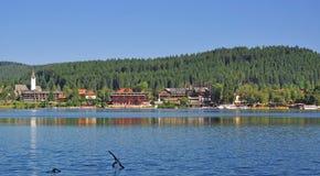Lago Titisee, floresta preta, Alemanha Fotos de Stock Royalty Free