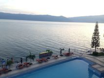 Lago Toba foto de stock