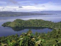 Lago Toba Fotografia Stock Libera da Diritti