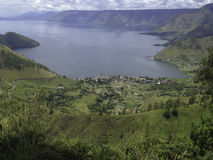 Lago Toba Fotografia de Stock Royalty Free