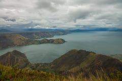 Lago toba Fotos de archivo