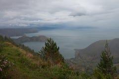 Lago toba Fotografía de archivo