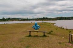 Lago Toba, Medan, Indonesia Imágenes de archivo libres de regalías