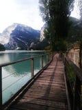 Lago Toblino Fotografia Stock
