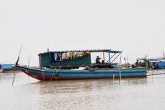 Lago tonie Sap Fotos de Stock