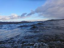 Lago tormentoso Fotos de Stock
