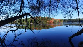 Lago Toronto Richmond Hill dam Fotografie Stock Libere da Diritti