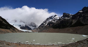 Lago Torre in Fitz Roy Range Royalty Free Stock Images