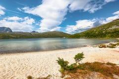 Lago Tovatna Imágenes de archivo libres de regalías