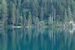 Lago Tovel, Immagine Stock