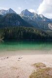 Lago Tovel, Imagem de Stock Royalty Free